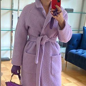 ❌SOLD❌. Ganni Fenn Coat Pastel Lilac